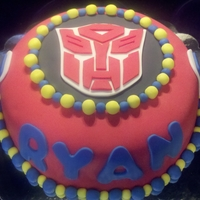 Transformers This cake was for a 5 year olds bithday party.