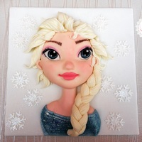 Sharing My Elsa Cake Topper That Was Sent All The Way To New Zeland For A Special Little Girlthanks For Looking Sharing my Elsa cake topper that was sent all the way to New Zeland for a special little girl..thanks for looking