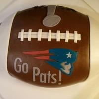 Patriots Superbowl Cake
