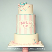 Funfair Themed Pastel Cake Funfair themed pastel cake