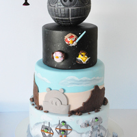 My Sons Birthday Theme This Year Was Angry Birds Star Wars His Attention To Detail Is Remarkable For A 7 Year Old We Butted Heads A Few T My son's birthday theme this year was Angry Birds Star Wars. His attention to detail is remarkable for a 7 year old. We butted...
