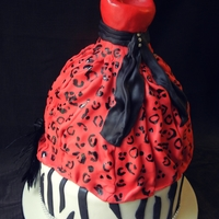 Gown Cake