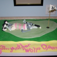 Mother Wolf Open Cake This cake was made for the Wolf family reunion