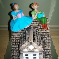 Peter Pan & Wendy Cake
