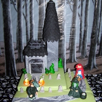 Trick-Or-Treat Cake