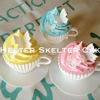 Pretty 'cup' Cakes