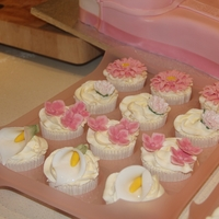 Cupcakes For Breast Cancer Charity Coffee Morning   pretty cup cakes