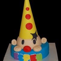 Bumba Clown Cake Bumba is a famous clown here in the Netherlands (he is a Belgium clown but also very populair here) who has his own toddler tv series here...