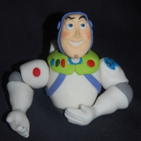 Buzz Lightyear Torso Awaiting The Cake I Will Be Making Tonight Buzz Lightyear torso awaiting the cake I will be making tonight.