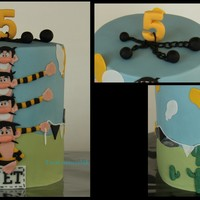 The Daltons! I Made This Cake For A Little Girl Who Loves All Their Movies :-)