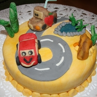 Car Cake For A 6 Year Old Little Boy