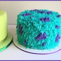 Monster Inc Cakes Mike Wazowski Vanilla Cake With Vanilla Buttercream Layered With Chocolate Ganache And Covered With Fondant Sully S Monster Inc. Cakes. Mike Wazowski: Vanilla cake with vanilla buttercream layered with chocolate ganache and covered with fondant. Sully:...