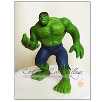 Incredible Hulk made in model paste
