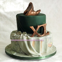 From Classicism To Contemporary Art 40th bday cake for a sculptor