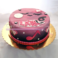 Chica Vampiro's Cake for Lara's Birthday