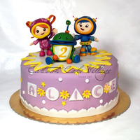 Tean Umizoomi Team Umizoomi entirely hand made in sugar paste