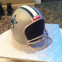 Football Helmet Grooms Cake Football helmet groom's cake