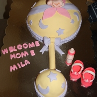 Celebration Of Welcoming My Granddaughter Into This World