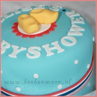 Oud Hollandse Babyshower Taart / Old Dutch Babyshower Cake
