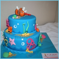 Wonder Onder Water Wereld / Under The Sea Cake