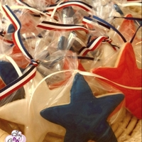 Star Cookies 4th of July