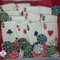 Poker Cards Pokers cards and chips