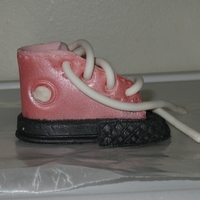 Bootie Baby Bootie made with Gum Paste