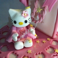 Hello Kitty Birthday Cake Chocolate sponge with pink BC filling and fondant detail. I enjoyed doing this cake, it was my first wedge cake. I was very nervous about...