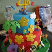 Toy Story Hawaiian Vacation My son wanted a cake that was all about the Toy Story Hawaiian Vacation short movie on the Cars 2 dvd. I managed to figure out how to make...