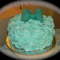 Rosette Birthday Cake Whip Cream Frosting Almeretto Cake Rosette birthday cake whip cream frosting. Almeretto cake