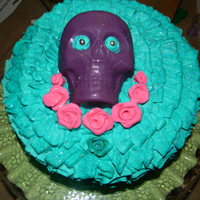 Skull Birthday Cakeskull Made Out Of Solid Chocolate   Skull birthday cake....skull made out of solid chocolate