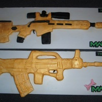 I Made These As Last Minute For Me And My Brothers Birthday We Play Modern Warfare Online And These Are Our Favourite Guns On There Mine I made these as last minute for me and my brother's birthday. We play Modern Warfare Online and these are our favourite guns on there...
