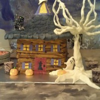Haunted House Cake haunted house cake!