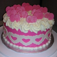 Crg Valentine Cake Valentine cake I made for the Christian Ressource Group @work. This was not my original design but I had to start from scratch and was able...