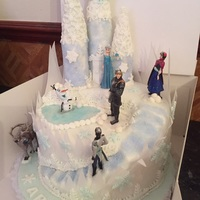 Frozen Themed Cake Frozen themed cake