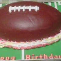 Football Cake This cake will forever be referred to as the Charlie-Brown football cake, because like CB, football success was frustrating and painful! I...