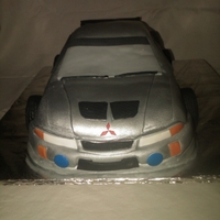 Mitsubishi Evolution Cake