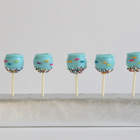 Fishbowl Cake Pops