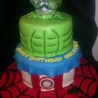 Heros N Games Cakes super hero cake