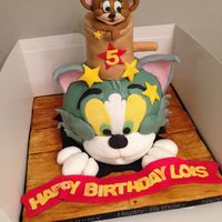 Tom Amp Jerry Cake Inspired By Debbie Brown Not Bad First Attempt For A Tricky Cake X Tom & jerry cake - inspired by Debbie Brown! Not bad first attempt for a tricky cake x