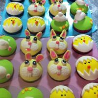 Inspiration For These Came From All Over The Internet My Daughter Asked For Easter Cupcakes To Take To Kindy * Inspiration for these came from all over the internet. My daughter asked for Easter cupcakes to take to kindy.