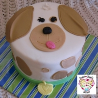 Puppy Dog Cake   Thanks to mycakeschool.com for the tutorial and design....made this cake for a fundraiser at our elementary school:)