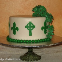St Patricks Day Combined With An Anniversary Celebration Cake Almond Cake With Almond Pastry Cream Filling Vanilla Bean Smbc And Mff St. Patrick's Day combined with an anniversary celebration cake. Almond cake with almond pastry cream filling, vanilla bean SMBC and...