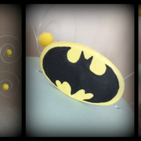 Batman Topsy With Logo And Hand Painted Skyline batman topsy with logo and hand-painted skyline