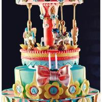 Horses Were Made Out Of Candy Melt The Top Part Spinsall Edible Decorations horses were made out of candy melt. The top part spins..all edible decorations..