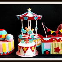 Carnival Theme Birthday Cake Carnival Theme Birthday Cake