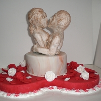 I Will Always Love You! Hello everybody,This cake is for 2 lovers who celebrate their engagement.They declare eternal love to each other..Greatings from Holland,...