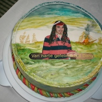 "Hello Everyone Ive Made This Cake For My Sons Birthday Because He Likes Very Much The Pirates Of The Caribbean Greatings From Holland Hello everyone,I''ve made this cake for my son's birthday because he likes very much ""The Pirates of the Caribbean&quot..."