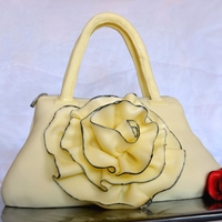 Flower Ruffle Bag