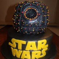 Star Wars Deathstar Cake